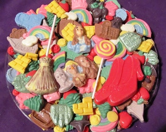 Wizard of Oz chocolates candy tray