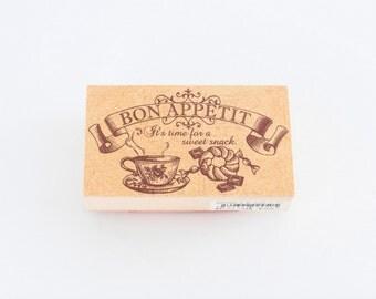 Tokyo Antique stamp- Bon Appetit