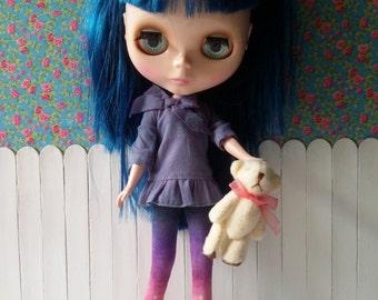 Teddy bear cream smooth for Blythe and Dolls