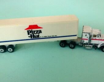 Vintage Road Champs Pizza Hut Semi Trailer 1984