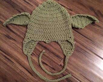 Child's Yoda hat