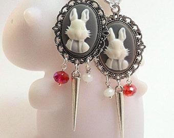 Alice grey earrings