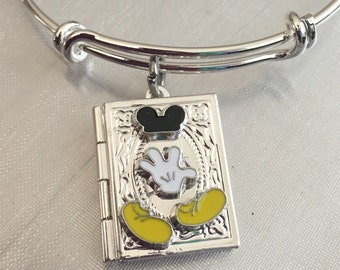 Mickey Book locket Bracelet
