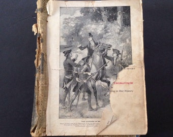 1902 Antique Textbook This Country of Ours  with 150 Engravings