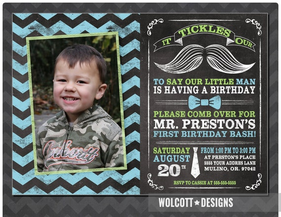 Little man birthday invitation mustache invitation chalkboard il570xn filmwisefo