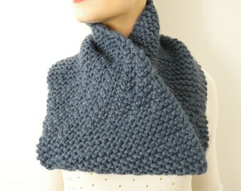 The Huron Chunky Knit Infinity Scarf
