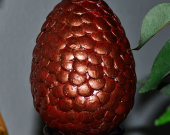 "Ruby Dragon Egg ""Game of Thrones"""