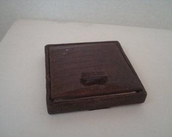 Vintage snakeskin? compact