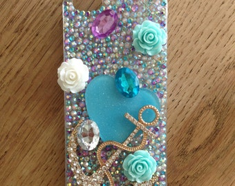 Custom rhinestone case
