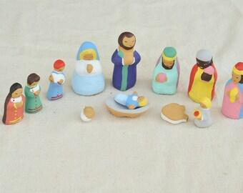 Japanese Nativity Scene