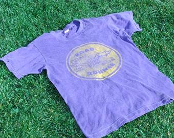 1970S roadrunner purple vintage t shirt beep beep