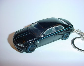 3D 2012 Chryler MOPAR 12 custom keychain by Brian Thornton keyring key chain finished in black color trim diecast metal body