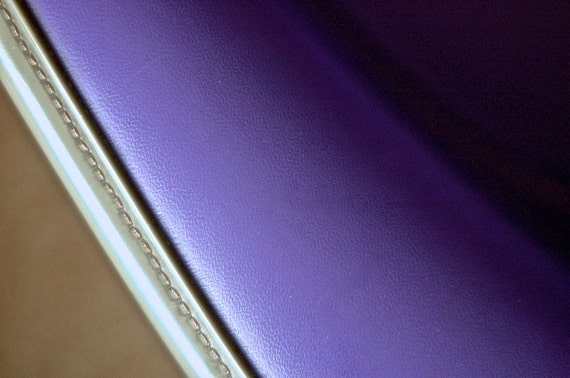 herman miller eames RARE LIMITED PRODUCTION 1971-1972) purple rocker armshell rocking arm shell. Museum Quality