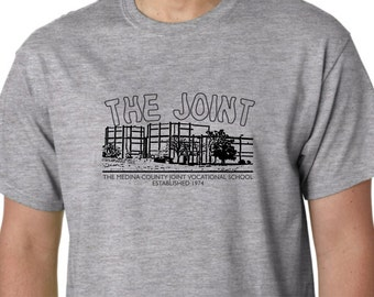 The JOINT medina county JVS Vocational High School Middle Elementary Ohio Tee Shirt Lodi Spencer