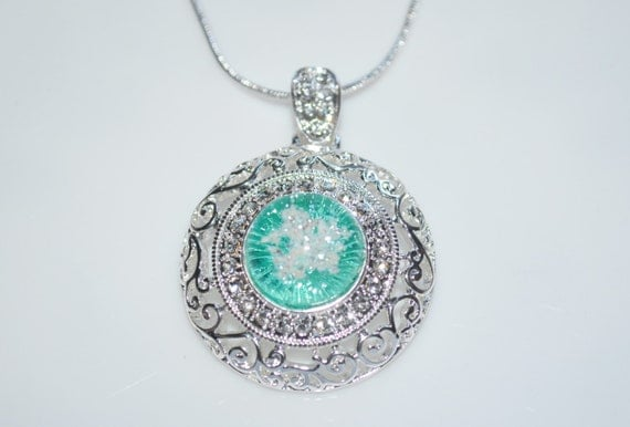 Pet cremation jewelry ash necklace ashes by for Jewelry to hold cremation ashes