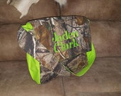 Realtree Camo Diaper Bag, Realtree Camoflauge Diaper Bag, Realtree Lime green Diaper Bag, Realtree Embroidered Diaper Bag, Custom Diaper Bag