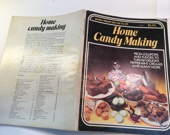 Home Candy Making Book Vintage Recipes