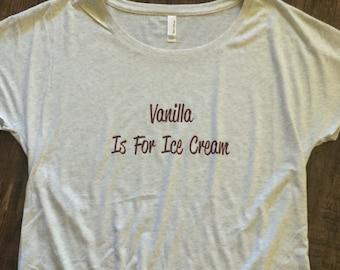 Vanilla Is For Ice Cream! Fun