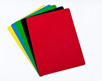 "9"" X 12"" Dry Erase Magnet - Multiple Colors - 5 Sheets"