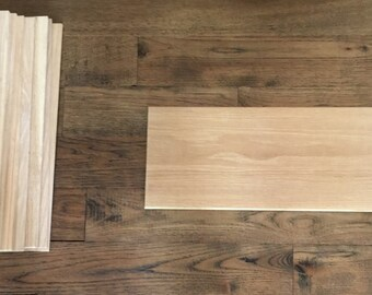 Craft Boards-Signs (Thin Boards, White Oak, for Signs or Craft Projects)
