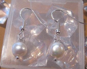 Genuine Pearl Earrings (JUNE BIRTHDAY)