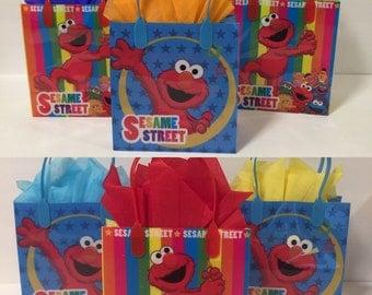 Elmo party bags! (12)