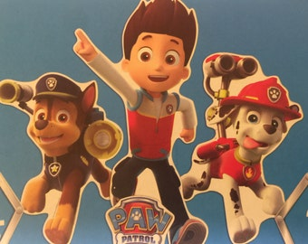 Big wall prop Paw Patrol 28in witdh