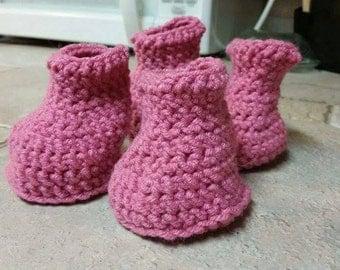 Crochet puppy booties