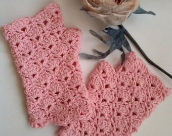Fingerless gloves PATTERN PDF Crochet mittens Mother day gift