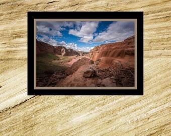 Fine Art Print - Grand Falls #2 - Mud Falls #2 - Little Colorado River - scenic colorful photograph, gift present, home office wall decor