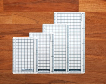 TRAVELER'S Notebook Plastic Sheet / Pencil Board - Regular/Personal/Pocket/Passport Sizes