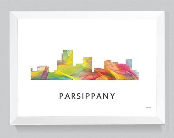 Parsippany, New Jersey Skyline WB1