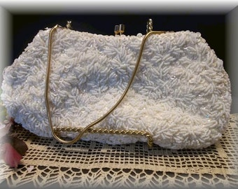 Vintage Sequin Evening Bag