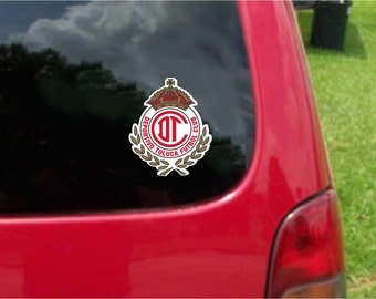 2 Pieces Toluca Diablos Rojos  Futbol Mexico  Decals Stickers Full Color/Weather Proof. U.S.A Free Shipping