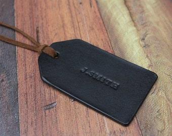 Custom Leather Travel Tag