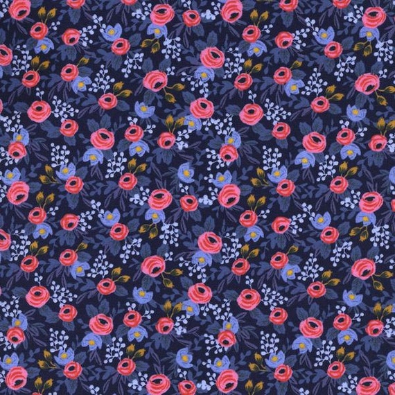 Boppy Cover >> Rifle Paper Co Rosa in Navy >> Boppy Newborn Lounger Nursing Pillow > MADE-to-ORDER navy blue boppy, pink floral boppy