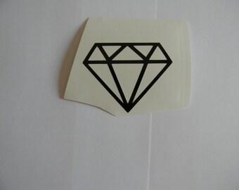 Diamond Vinyl Decal/Sticker