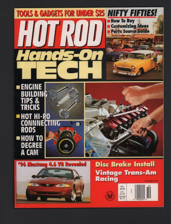 Hot Rod Magazine October 1952 Ford Block Engine Ex No Ml 051817nonjhe2