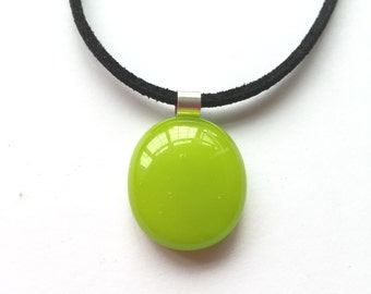 Lime pendant, green pendant, lime necklace, green necklace, lime green necklace, bright green pendant, lime jewellery,tropical jewellery