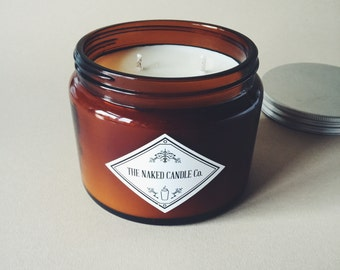 The Naked Candle Co- Soy Wax Candle