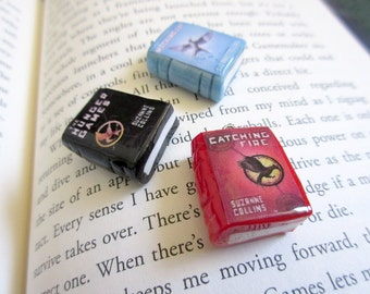 Hunger Games Book Charms
