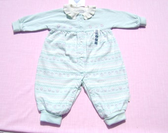 vintage gymboree girls romper size newborn which is 3-6 months see measurements new with tags see last picture floral