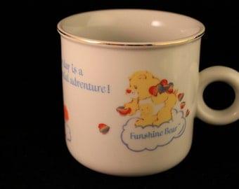 Vintage 1980's The Care Bears Coffee Mug/Cup