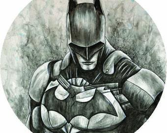 Batman DC 38mm Badge