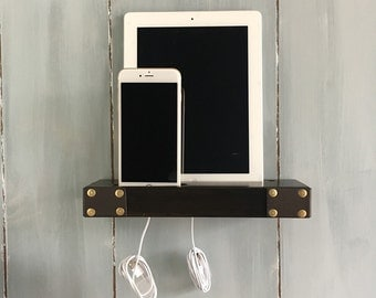 Charging station, iPhone charging station with 2 USB OEM apple cable