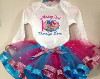 Shimmer and shine outfit