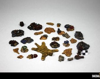 kit Accessories treasures for games figurines miniatures fantasy