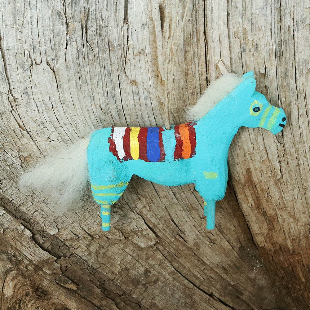 Native AmericanNavajoNative Navajo Folk Art Horse Ornament