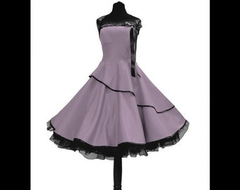 Sweet Petticoat dress in the style of the 50th!
