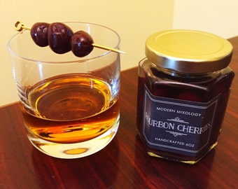Spiced Bourbon Cherries